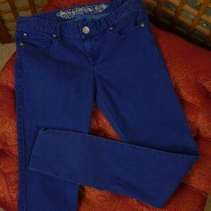 Express Stella Jean Legging Blue Size 4